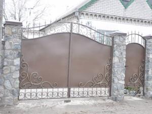Ворота калитки в Днепропетровске