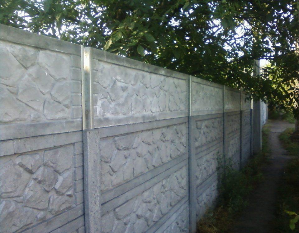 наращивание бетонного забора |Битис