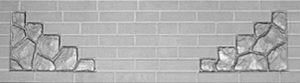низ для бетонного забора